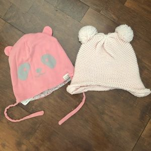 2 toddler hats
